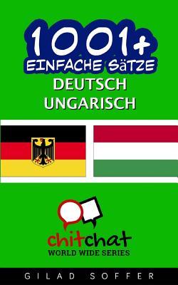 1001+ Einfache Sätze Deutsch - Ungarisch Cover Image