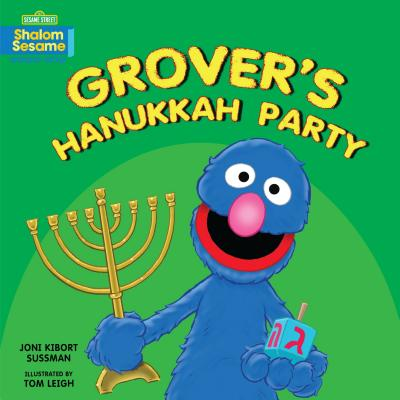 Grover's Hanukkah Party Cover Image