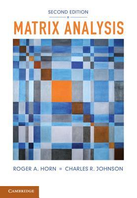 Matrix Analysis Cover Image