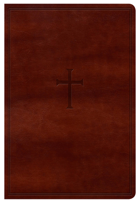Cover for KJV Large Print Personal Size Reference Bible, Brown LeatherTouch