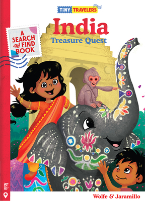 Tiny Travelers India Treasure Quest Cover Image