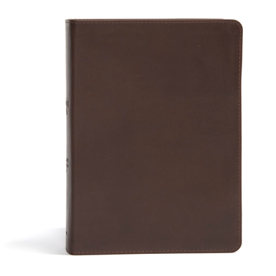 CSB She Reads Truth Bible, Brown Genuine Leather: Notetaking Space, Devotionals, Reading Plans, Easy-to-Read Font Cover Image