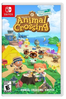 Animal Crossing Switch: New Horizons - Nintendo Switch Cover Image