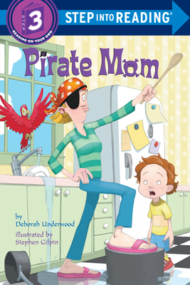 Pirate Mom (Step into Reading) Cover Image