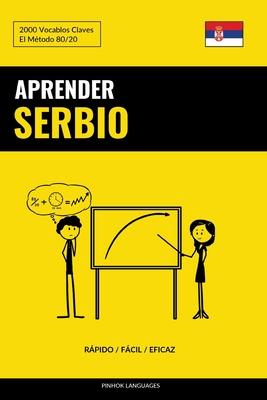 Aprender Serbio - Rápido / Fácil / Eficaz: 2000 Vocablos Claves Cover Image