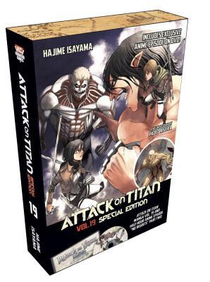Attack on Titan 19 Manga Special Edition w/DVD (Attack on Titan Special Edition #4) Cover Image
