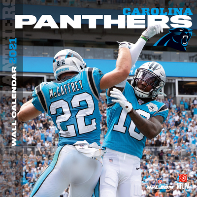 Carolina Panthers 2021 12x12 Team Wall Calendar Cover Image