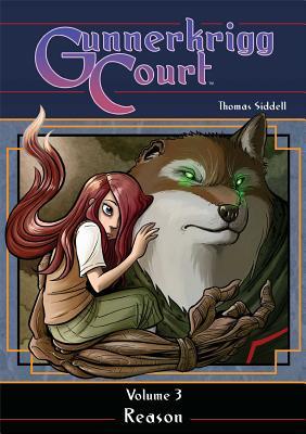 Gunnerkrigg Court, Volume 3 Cover