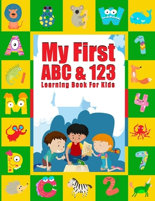My First ABC & 123 Learning Book for Kids: A Fun Book to Practice Writing for Kids Ages 3-5, Write and Wipe ABC 123: Scholastic Early Learners, Number Cover Image