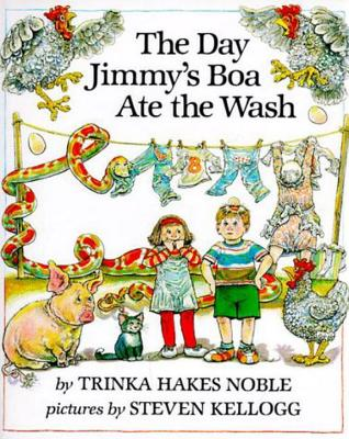 The Day Jimmy's Boa Ate the Wash Cover Image