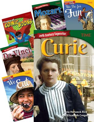 Time Grades 6-8: Social Studies 9-Book Set Cover Image