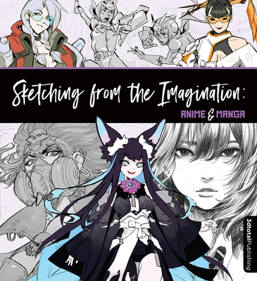 Sketching from the Imagination: Anime & Manga Cover Image