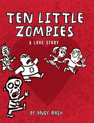 Ten Little Zombies Cover
