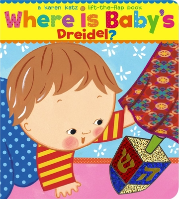 Cover for Where Is Baby's Dreidel?