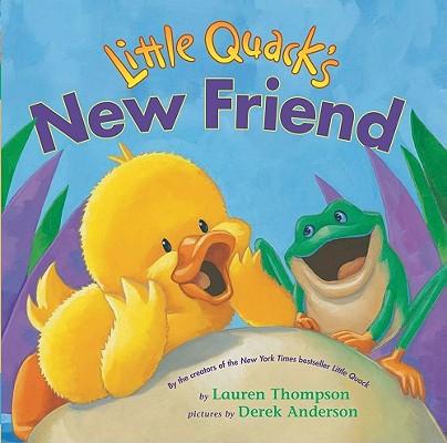 Cover for Little Quack's New Friend (Classic Board Books)