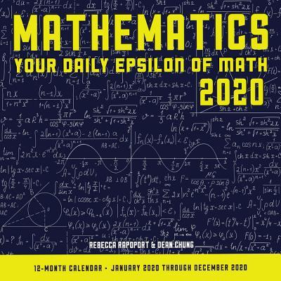 Mathematics 2020: Your Daily Epsilon of Math: 12 Month Calendar January Through December 2020 Cover Image