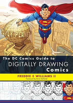 The DC Comics Guide to Digitally Drawing Comics Cover