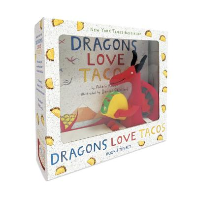 Dragons Love Tacos Book and Toy Set [With Book and Dragon Plush Toy] Cover Image