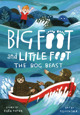 The Bog Beast (Big Foot and Little Foot #4) Cover Image
