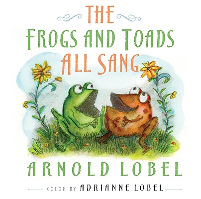 The Frogs and Toads All Sang Cover