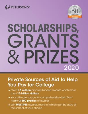 Scholarships, Grants & Prizes 2020 Cover Image