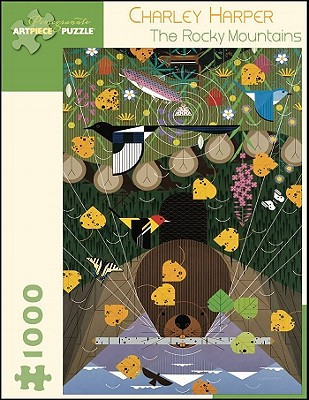 Charley Harper: The Rocky Mountains 1,000-Piece Jigsaw Puzzle (Pomegranate Artpiece Puzzle) Cover Image