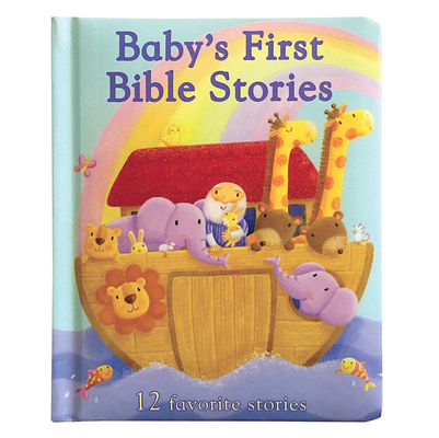 Baby's First Bible Stories Cover Image