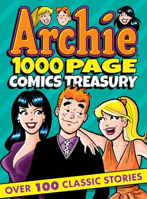 Archie 1000 Page Comics Treasury (Archie 1000 Page Digests #17) Cover Image