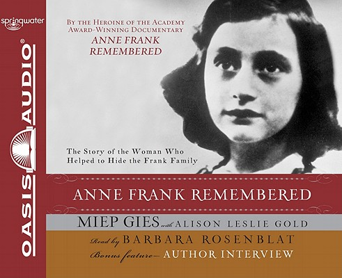 Anne Frank Remembered (CD-Audio)