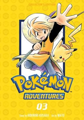 Pokémon Adventures Collector's Edition, Vol. 3 (Pokémon Adventures Collector's Edition #3) Cover Image