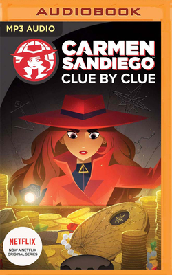Clue by Clue: Carmen Sandiego Cover Image