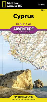 National Geographic: Cyprus (Adventure Map (Numbered) #3318) Cover Image
