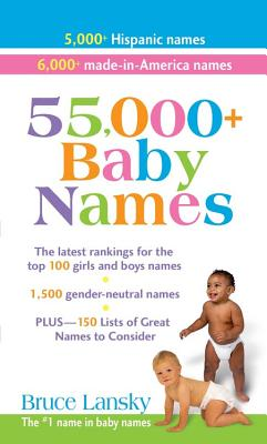 Cover for 55,000 + Baby Names