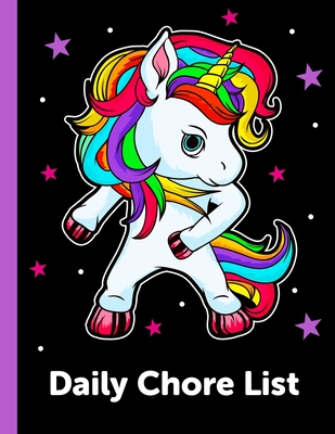 Daily Chore List: Daily and Weekly Responsibility Tracker for Kids Cover Image
