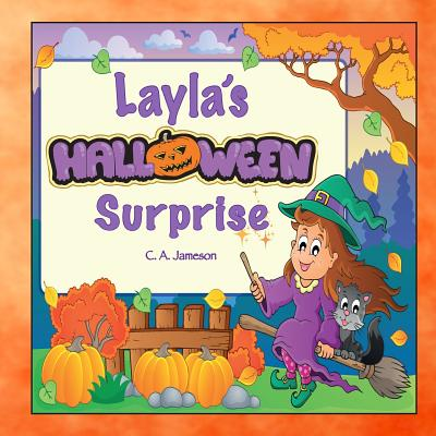 Layla's Halloween Surprise (Personalized Books for Children) Cover Image