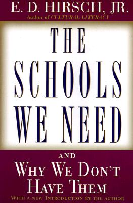The Schools We Need Cover