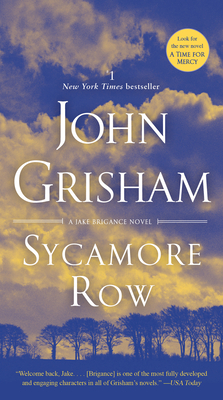 Sycamore Row: A Jake Brigance Novel Cover Image