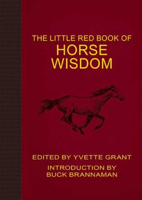 The Little Red Book of Horse Wisdom Cover Image