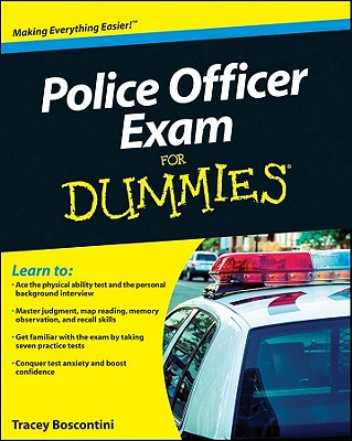 Police Officer Exam for Dummies Cover Image