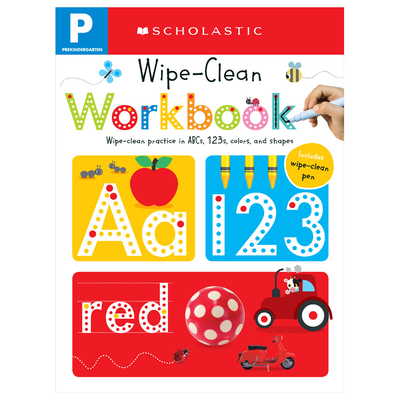 Pre-K Wipe-Clean Workbook: Scholastic Early Learners (Wipe-Clean Workbook) Cover Image
