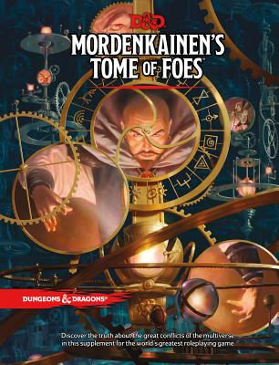 D&D MORDENKAINEN'S TOME OF FOES (Dungeons & Dragons) Cover Image