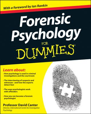 Forensic Psychology for Dummies Cover Image