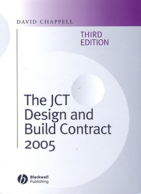 The Jct Design and Build Contract 2005 Cover Image