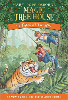 Tigers at Twilight (Magic Tree House #19) Cover Image