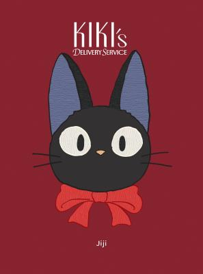 Kiki's Delivery Service: Jiji Plush Journal: (Textured Journal, Japanese Anime Journal, Cat Journal) Cover Image