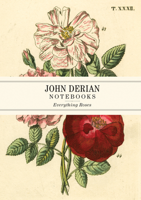 John Derian Paper Goods: Everything Roses Notebooks Cover Image