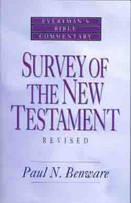 Survey of the New Testament- Everyman's Bible Commentary (Everyman's Bible Commentaries) Cover Image