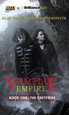 Cover for The Greyfriar (Vampire Empire #1)
