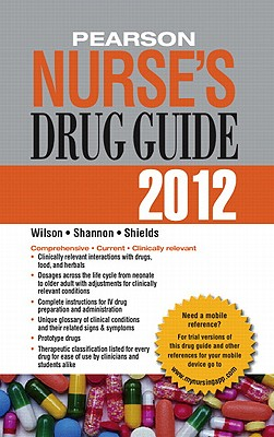 Pearson Nurse's Drug Guide [With Access Code] Cover Image
