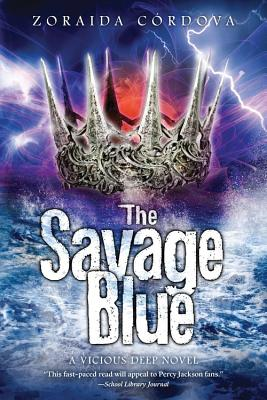 The Savage Blue (Vicious Deep #2) Cover